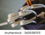 dirty golf clubs   Shutterstock . vector #360038555