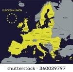 european union | Shutterstock .eps vector #360039797