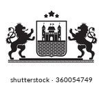 Coat Of Arms   Shield With...