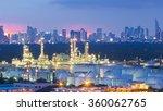 petrochemical industrial...   Shutterstock . vector #360062765