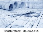 architectural project    | Shutterstock . vector #360066515
