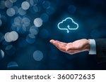 Cloud Computing Concept Connect Cloud - Fine Art prints