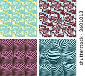 retro seamless wallpaper... | Shutterstock .eps vector #3601013