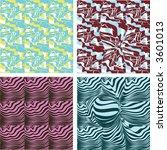 retro seamless wallpaper... | Shutterstock .eps vector #3601013