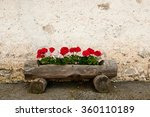 Rustic Old Wooden Planter Box...