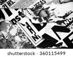photo of urban collage... | Shutterstock . vector #360115499