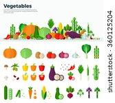 concept of healthy food. banner ... | Shutterstock .eps vector #360125204