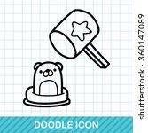 Whack A Mole Doodle