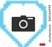 photo camera vectoe icon