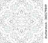 Seamless Damask Pattern. Tile