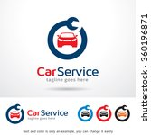 car service logo template... | Shutterstock .eps vector #360196871