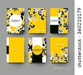 abstract vector brochure...   Shutterstock .eps vector #360210179