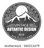 vintage art . retro design ... | Shutterstock .eps vector #360211679