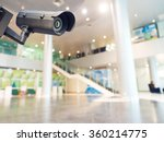 security cctv camera or... | Shutterstock . vector #360214775