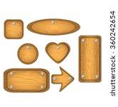 wood element | Shutterstock .eps vector #360242654