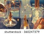 Closeup Of Several Bulbs Seein...