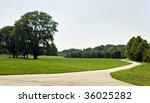 park bike path | Shutterstock . vector #36025282