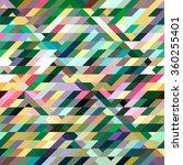 green  polygonal mosaic... | Shutterstock .eps vector #360255401