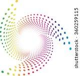 background composition spectrum ... | Shutterstock .eps vector #360259115