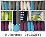 pillows and cushions different  ... | Shutterstock . vector #360262565