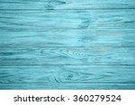 Old Light Blue Vintage Wooden...