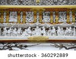 beautiful white sculptures at...
