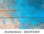 blue hand painted brush stroke... | Shutterstock . vector #360293369
