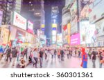 defocused background of times... | Shutterstock . vector #360301361