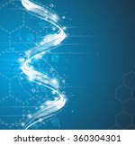 dna abstract icon and element...   Shutterstock .eps vector #360304301