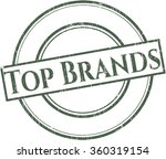 top brands rubber texture   Shutterstock .eps vector #360319154