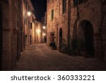 Old European City At Night....