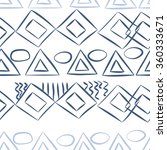 seamless pattern  doodles... | Shutterstock .eps vector #360333671