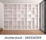 3d illustration of empty... | Shutterstock . vector #360336509