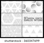 set of universal vector... | Shutterstock .eps vector #360347699