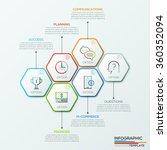 modern infographics options... | Shutterstock .eps vector #360352094