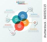 modern infographics options... | Shutterstock .eps vector #360352115