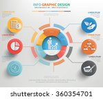 business concept info graphic... | Shutterstock .eps vector #360354701