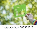 eco friendly green living | Shutterstock . vector #360359015