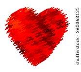 love hearts  | Shutterstock . vector #360363125