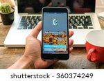 chiang mai thailand   jan 10... | Shutterstock . vector #360374249