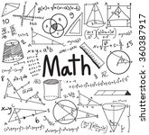 math theory and mathematical... | Shutterstock .eps vector #360387917