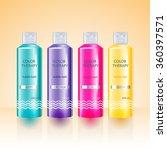beauty cosmetics  packaging... | Shutterstock .eps vector #360397571