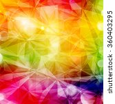 abstract colorful geometric... | Shutterstock .eps vector #360403295