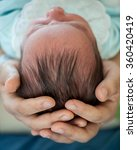 newborn baby first days of life | Shutterstock . vector #360420419