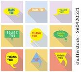 thank you vector  appreciation...   Shutterstock .eps vector #360420521