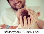 newborn baby first days with... | Shutterstock . vector #360421721