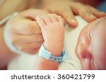 newborn baby first days of life | Shutterstock . vector #360421799