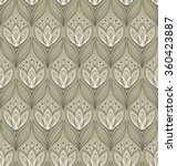seamless floral pattern with... | Shutterstock .eps vector #360423887