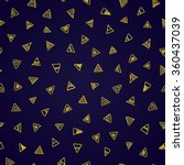 triangle abstract background... | Shutterstock .eps vector #360437039