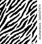 seamless pattern with zebra... | Shutterstock .eps vector #360437474
